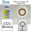 DOX Cl-21 brown D=14 mm до -6