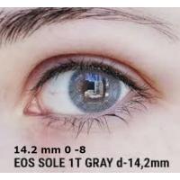 EOS SOLE gray 1 tone D=14,2 mm до -8