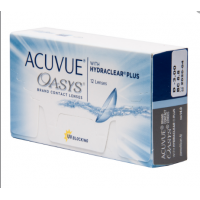 Acuvue Oasys with HYDRACLEAR Plus 12 шт.