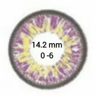 EOS Puffy G-306 Violet D=14,2 mm до -6