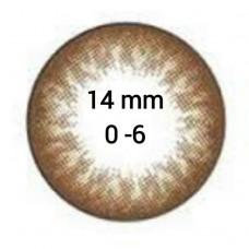 EOS G-101 dark brown D=14 mm до -6