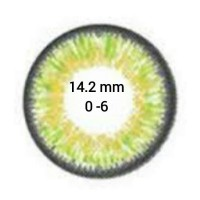 EOS Puffy G-306 Green D=14,2 mm до -6