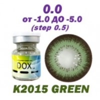 DOX K-2015 green D=14,2 mm до -5