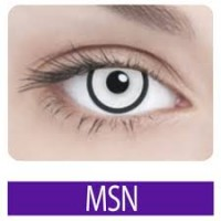 Msn (белые линзы с черным ободком)