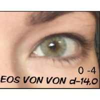 EOS Von Von light gray D=14 mm до -4