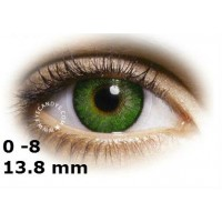 Air Optix gemstone green 13.8 mm до -8