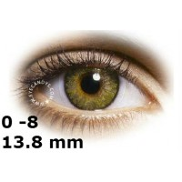 Air optix pure hazel 13.8 mm до -8