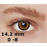 Magic eye 2 tone hazel 14.2 mm до -8