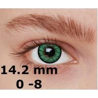 Magic eye 2 tone turquoise 14.2 mm до -8