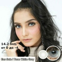 EOS SOLE white gray 1 tone D=14,2 mm до -4
